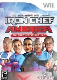 Virtual Cooking Competitions - Iron Chef America for Nintendo Wii