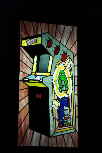 Geeky Stained Glass - Window Designs by Nerds