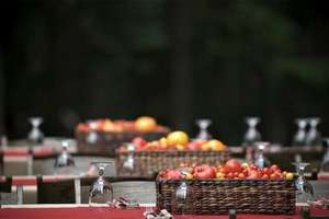 Tomatoes as Centerpieces
