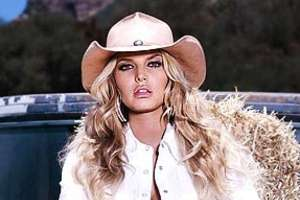 Jessica Simpson for Stampede Light Beer