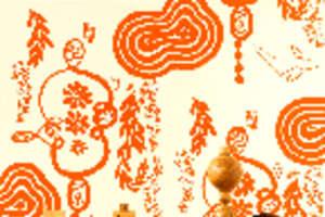 Nama Rococo Hand-Printed Wallpaper