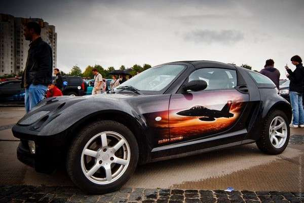 Airbrushed Car Art