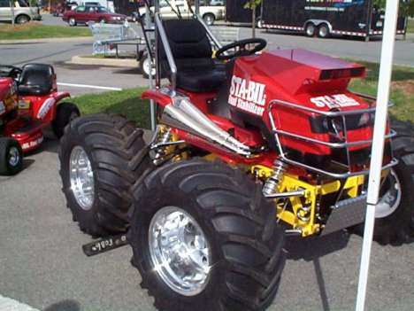 10 Monster Lawnmowers You Can Ride