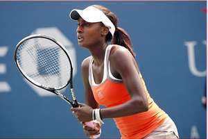 Asia Muhammad Plays With Diamonds at US Open