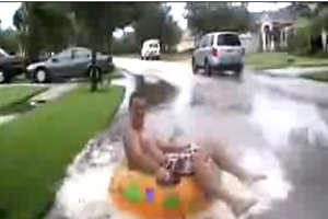 Tropical Storm Fay Mishap