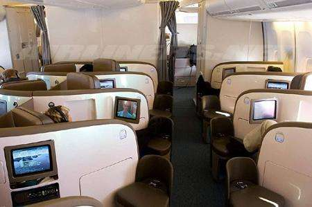 Extravagant Airplane Cabins