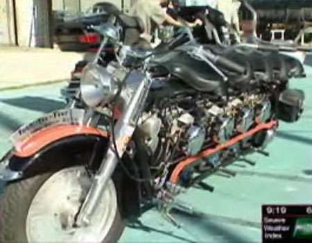 5 Seater Motorcycles - The Keg Harley