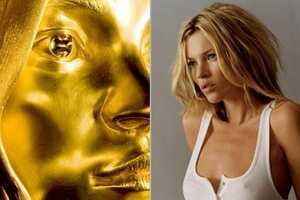 $2.7 Million Gold Kate Moss 'Siren' Statue
