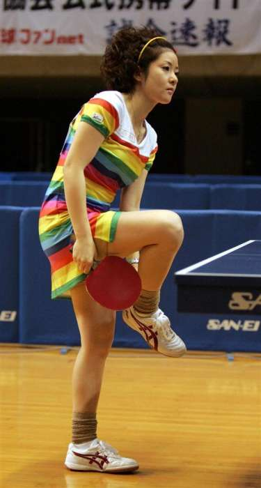 Ping Pong Fashion Icons - Naomi Yotsumoto Wears Cosplay