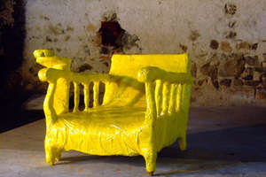 'Period 1st Tape' Chairs by Anan Pairot