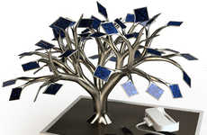 Solar Powered Tree Chargers - The Photonsynthese