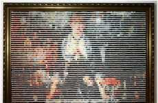 Pantone Chip Mosaics