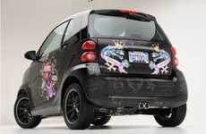 Designer Car Tattoos - Ed Hardy Smart Car