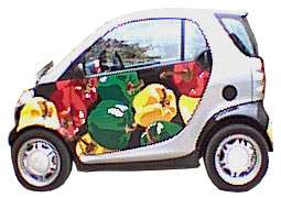 Custom Compact Car Art