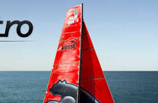 Monster Sailboats - PUMA's 'Il Monstro' for the Volvo Ocean Race
