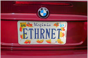 Tech-Inspired Vanity Plates