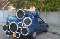 Monstrous Car Audio Systems - The Mobile DJ