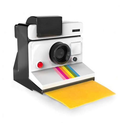 Polaroid Camera Cheese Slicers - The Say Cheese Cameras Will You Cheese Instead of Memories
