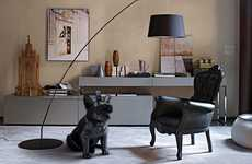 Dog-Shaped Sound Systems - The AeroBull iPhone Speaker is Made for the True Hipster