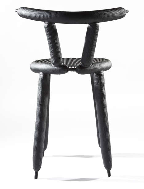 Featherweight Carbon Chairs - This Carbon Balloon Chair Made from Carbon Fiber Weighs Only 800 Grams