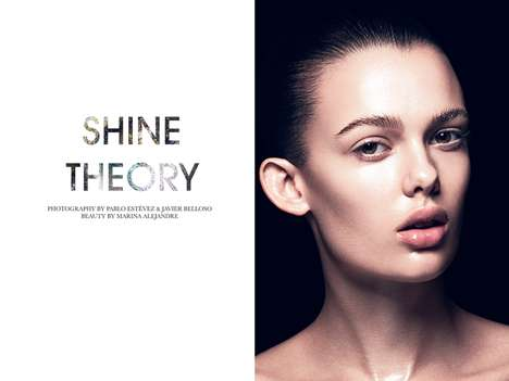 Gleaming Beauty Editorials - The Fashion Gone Rogue