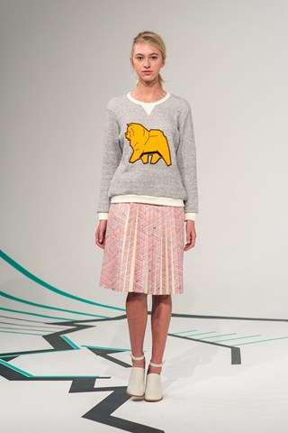 Chic Canine-Themed Couture - The Calla FW 2014-15 Collection is Paws-itively Perfect