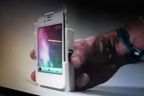 Smoke-Shooting Phone Cases - This Smart Phone Case Gives a Shout Out to Morse Code