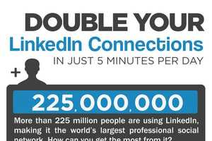 This Infograpic Educates You on How to Gain LinkedIn Connections