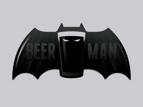 Alcohol-Infused Vigilante Ensembles - Beerman is the Drinking Hero Society Has Been Looking For