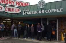Mock Coffee Chain Cafes - 'Dumb Starbucks' is a Mysterious Cafe That's Spoofing Starbucks