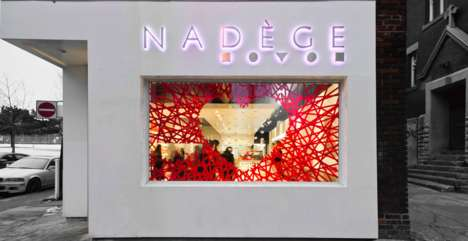 Radiantly Romantic Window Decor - NADEGE Sets the Mood with Valentine