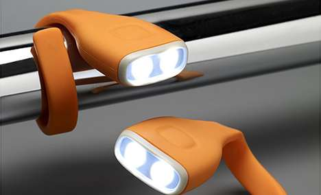 Bendable Binding Torches - The Flexi Flash Can Be Wrapped Around Bikes and Bags for Night Visibility