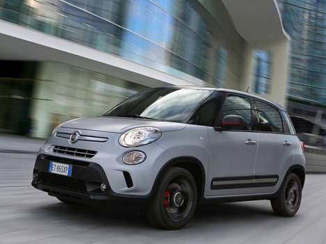 Rapper-Calibrated City Cars - The Fiat 500L Beats Edition Features Dr. Dre