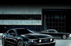 The Ford Mustang the Black Edition is for Japanese Drivers Only