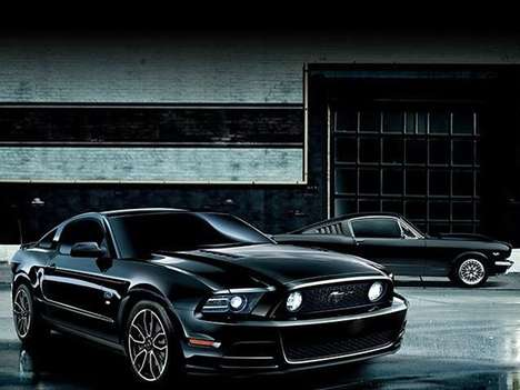 Nippon-Minded Muscle Cars - The Ford Mustang the Black Edition is for Japanese Drivers Only