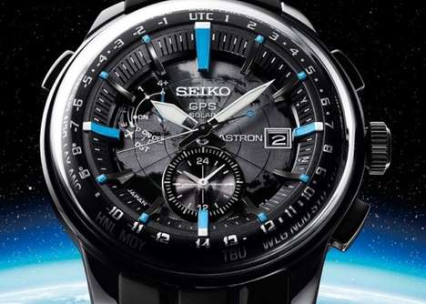 Earth-Encompassed Timepieces - The Seiko Astron Stratosphere Watch Adjusts Automatically