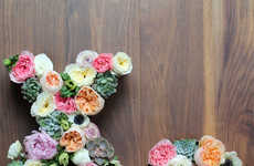 Fabulous Floral Letter Decor
