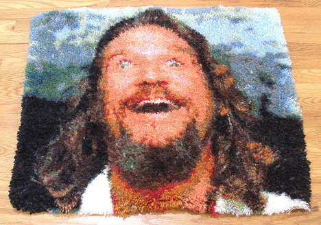 Film-Inspired Home Decor - This Big Lebowski Rug Really Ties the Room Together