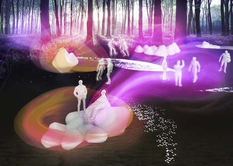 Avant-Garde Sensory Gardens - New Sensorium Enhances Outdoor Experiences with Biological Innovation
