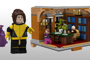 This Lego X-Mansion is a Great Superhero Abode