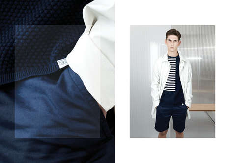 Timeless Scandinavian Lookbooks - The New Norse Projects 2014 Spring Collection is Warm and Sporty