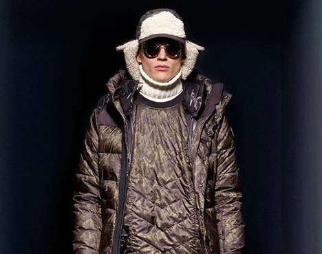 Sleek Slope Style Lookbooks - The Moncler Grenoble Fall/Winter 2014 Collection is Exciting and Cozy