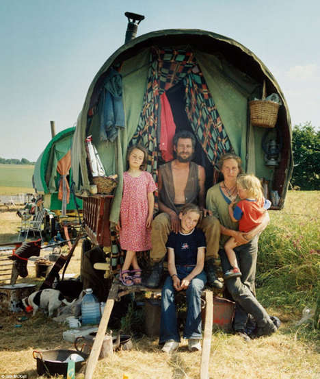 New Age Gypsy Photography - Photographer Iain McKell Brilliantly Captures a World Often Unexplored