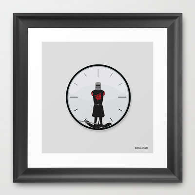 Impractical Timepiece Illustrations - The Most Worthless Clock by Phil Jones Can