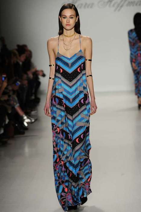 Richly Exotic Tribal Collections - The Mara Hoffman Fall 2014 Fashions Source from North Africa