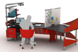 The Duo Office Workstation Flexibly Facilitates Individual and Group Work