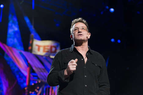 Winning the War on Poverty - Bono Stays Positive in This Poverty Keynote