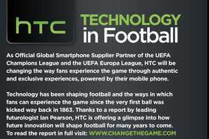 This HTC Infographic Looks Ahead at the Future of Football