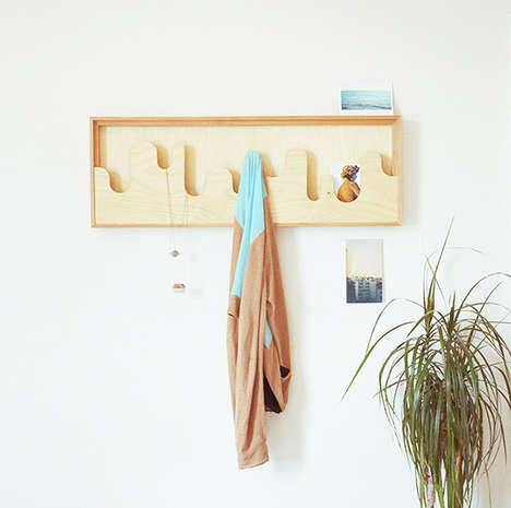 Art-Like Coat Racks - The Wallmonds Hanger Frame by Goncalo Campos is Decorative and Functional