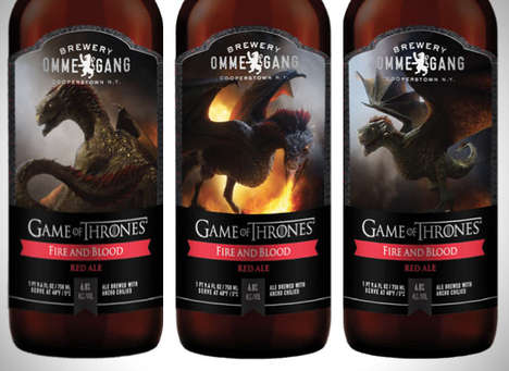 Dragon-Inspired Fantasy Libations - Enjoy Game of Thrones with Ommegang Brewery